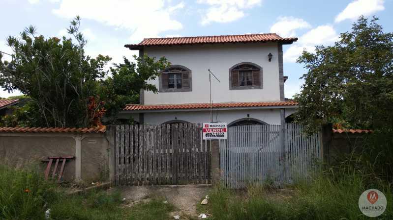 1 - Fachada - CASA À VENDA EM ARARUAMA - IGUABINHA - CI-0116 - 1