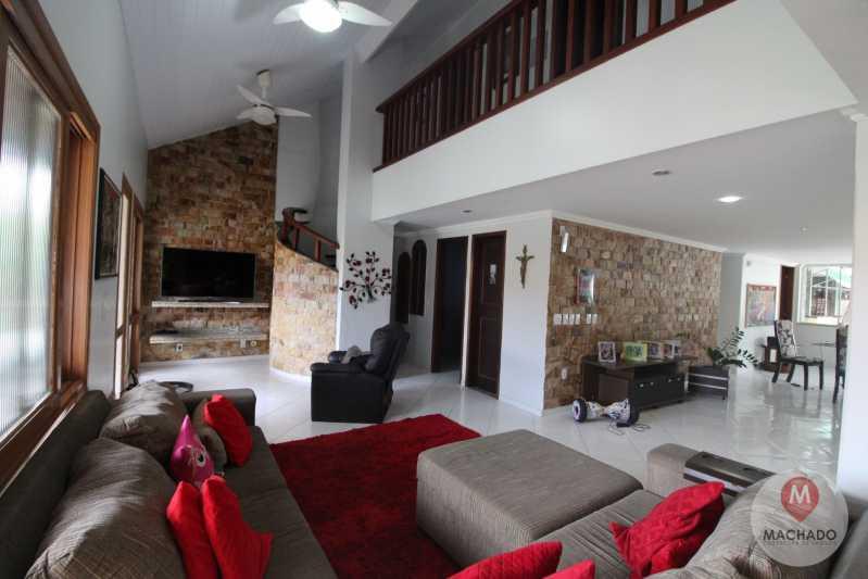 7 - Sala de Estar - Casa em Condomínio à venda Rodovia Amaral Peixoto,Araruama,RJ - R$ 900.000 - CD-0072 - 8