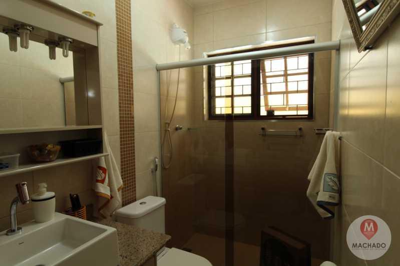 8 - Banho Suíte - CASA À VENDA EM ARARUAMA - PARQUE HOTEL - CI-0128 - 9