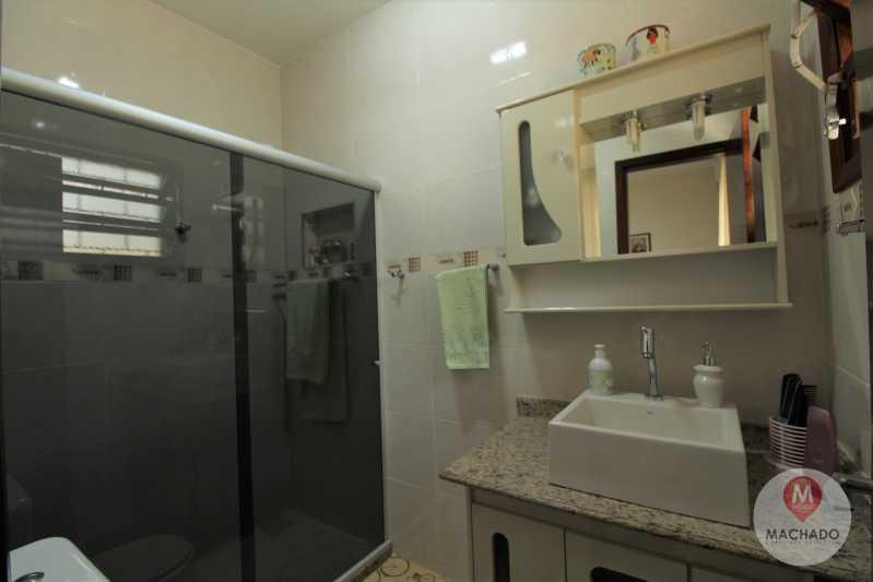 11 - Banho Suíte - CASA À VENDA EM ARARUAMA - PARQUE HOTEL - CI-0128 - 12