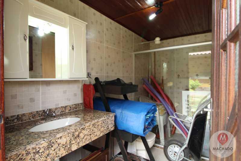 18 - Banho Externo - CASA À VENDA EM ARARUAMA - PARQUE HOTEL - CI-0128 - 19