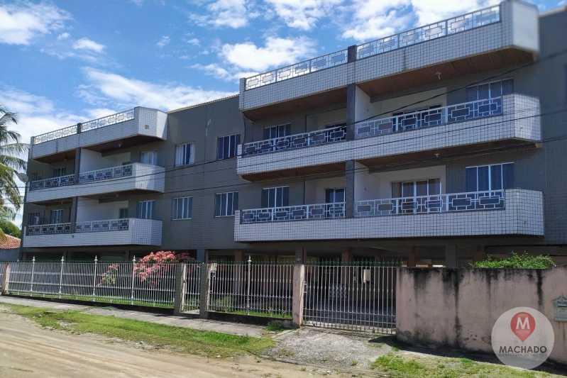 FAXADA  - Apartamento 2 quartos à venda Araruama,RJ - R$ 190.000 - AP-0074 - 3