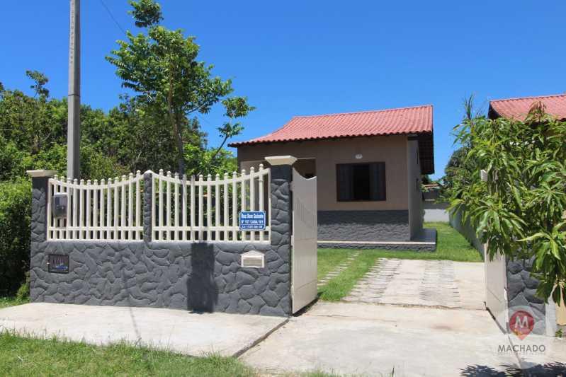 FAXADA - CASA À VENDA EM ARARUAMA - COQUEIRAL - CI-0381 - 1