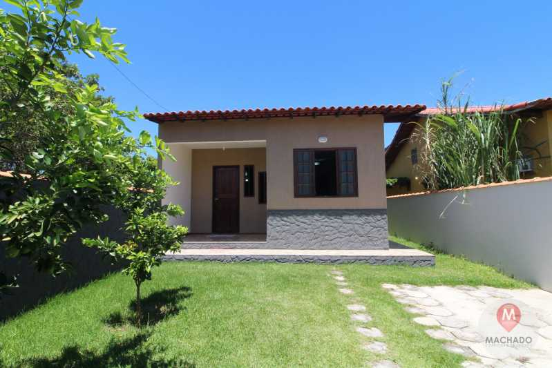 FAXADA - CASA À VENDA EM ARARUAMA - COQUEIRAL - CI-0381 - 4