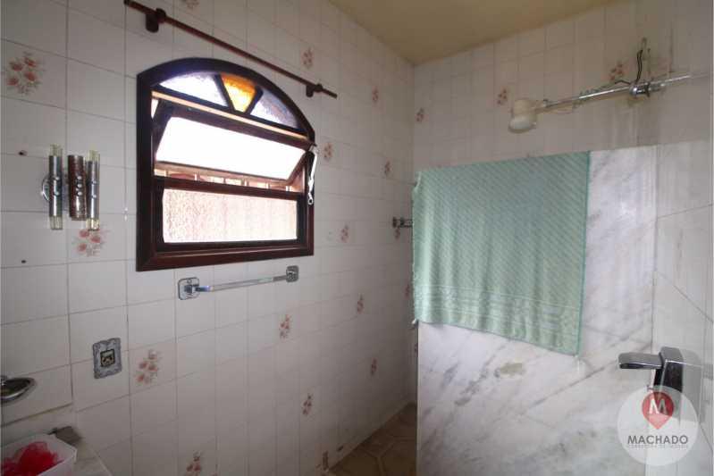 BANHEIRO SOCIAL - Casa em Condomínio 3 quartos à venda Araruama,RJ - R$ 255.000 - CD-0167 - 13