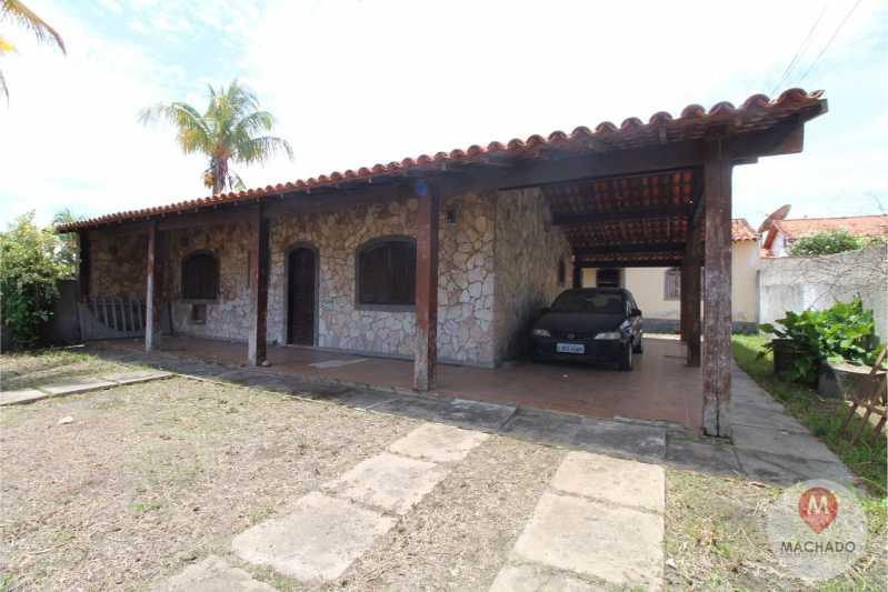 FACHADA FRONTAL - Casa em Condomínio 3 quartos à venda Araruama,RJ - R$ 255.000 - CD-0167 - 1
