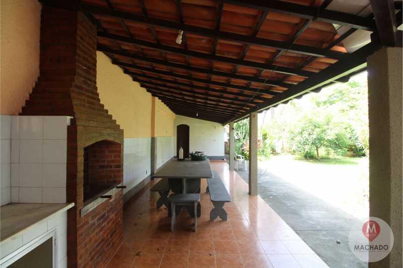 VARANDÃO - CASA À VENDA EM ARARUAMA - IGUABINHA - CI-0393 - 9
