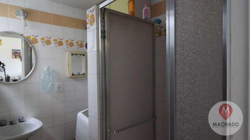 banheiro social  - Apartamento à venda Rua Rodovia Amaral Peixoto,Araruama,RJ - R$ 180.000 - CD-0150 - 6