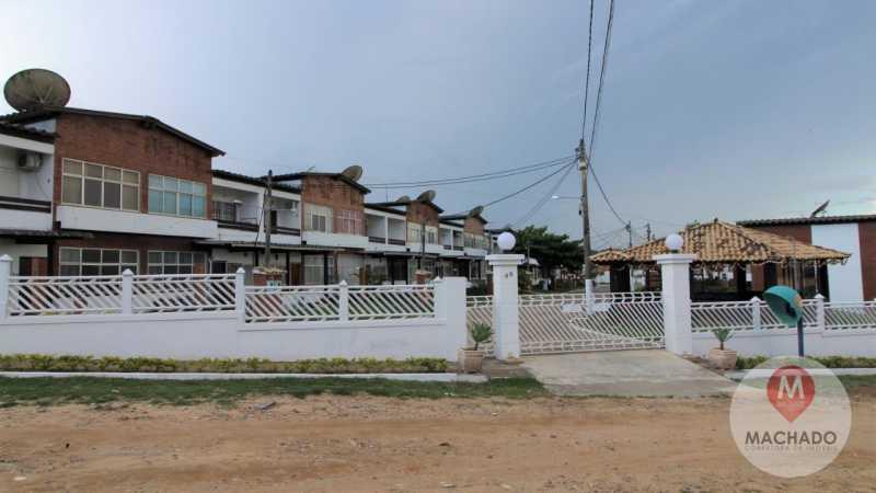Entrada do condomínio  - Apartamento à venda Rua Rodovia Amaral Peixoto,Araruama,RJ - R$ 180.000 - CD-0150 - 17