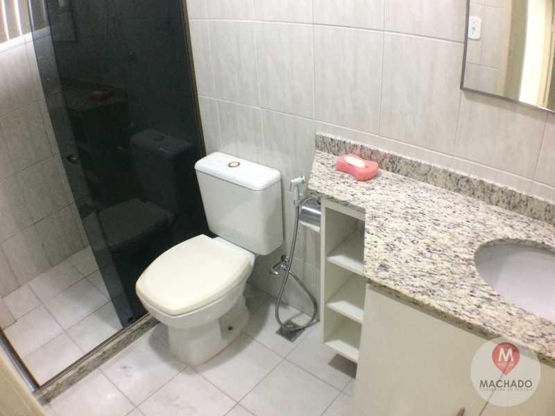 14 - Banho Social - APARTAMENTO À VENDA EM ARARUAMA - PARQUE HOTEL - AP-0028 - 15