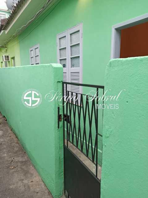 WhatsApp Image 2020-11-06 at 1 - Casa de Vila para alugar Rua Jurubaiba,Honório Gurgel, Rio de Janeiro - R$ 512 - SSCV10005 - 1