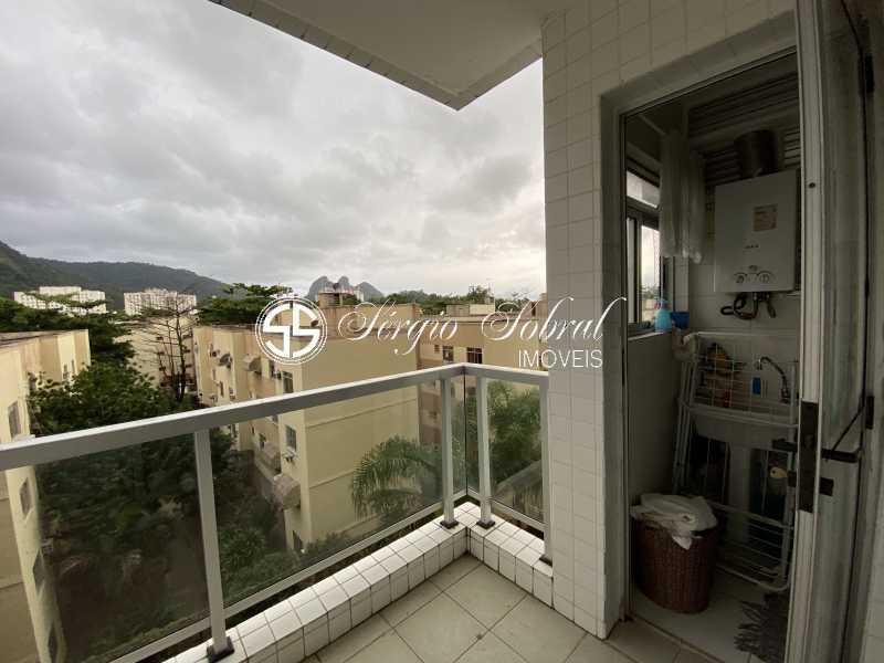 20210530_182715170_iOS - Apartamento para alugar Estrada dos Bandeirantes,Curicica, Rio de Janeiro - R$ 1.512 - SSAP20062 - 3