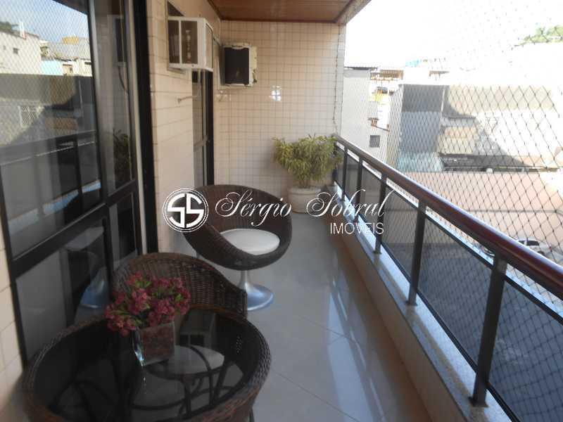 0001 - Apartamento à venda Rua das Azaléas,Vila Valqueire, Rio de Janeiro - R$ 500.000 - SSAP30033 - 1