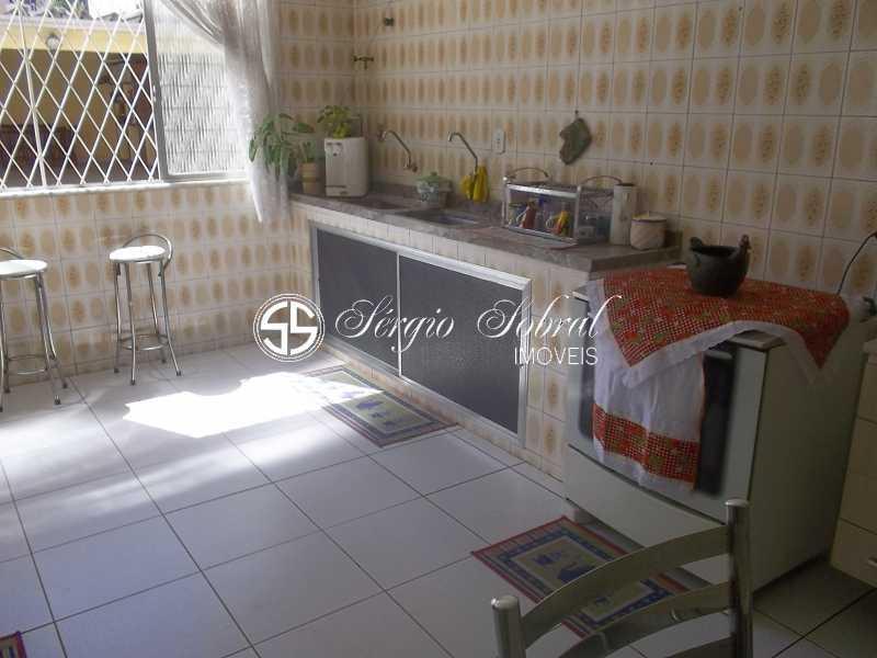 016 - Casa em Condomínio à venda Rua Turvânia,Vila Valqueire, Rio de Janeiro - R$ 1.100.000 - SSCN40001 - 16