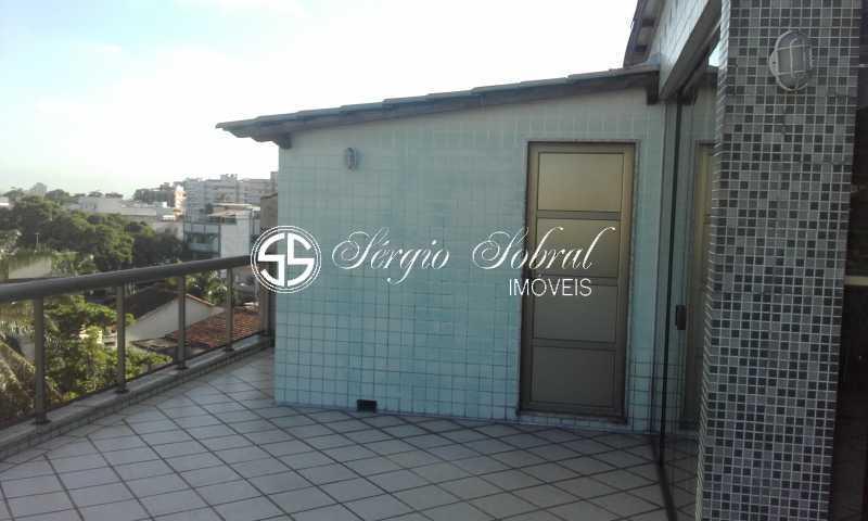 0002 - Cobertura à venda Rua Evaristo de Morais,Vila Valqueire, Rio de Janeiro - R$ 1.150.000 - SSCO40001 - 3