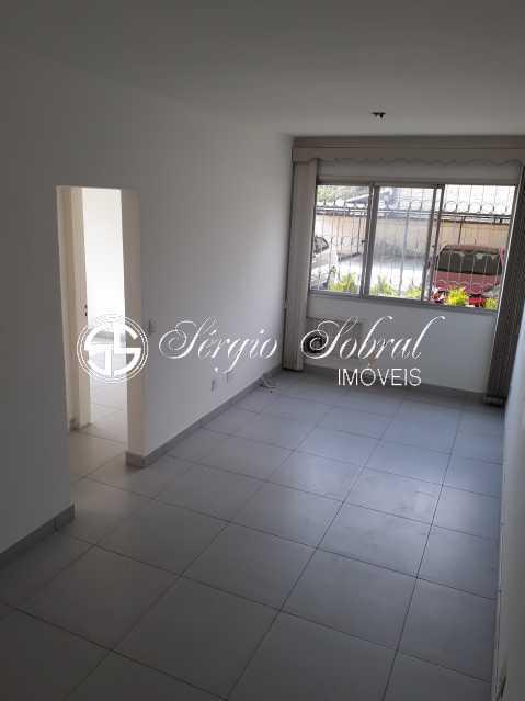 Foto 2 - Apartamento para alugar Rua Pinto Teles,Praça Seca, Rio de Janeiro - R$ 930 - SSAP20005 - 3