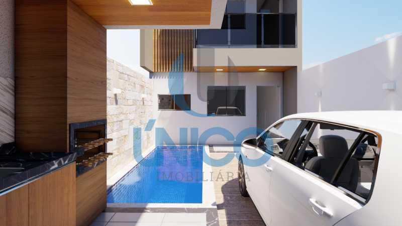 02. - Casa residencial para Venda Sun Ville II, Jequié 3 dormitórios sendo 1 suíte, 1 sala, 2 banheiros, 2 vagas 97,00 m² construída, 100,00 m² total Sem Piscina 210 mil Com Piscina 240 mil - MTCA30008 - 10
