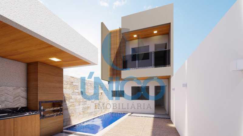 04. - Casa residencial para Venda Sun Ville II, Jequié 3 dormitórios sendo 1 suíte, 1 sala, 2 banheiros, 2 vagas 97,00 m² construída, 100,00 m² total Sem Piscina 210 mil Com Piscina 240 mil - MTCA30008 - 9