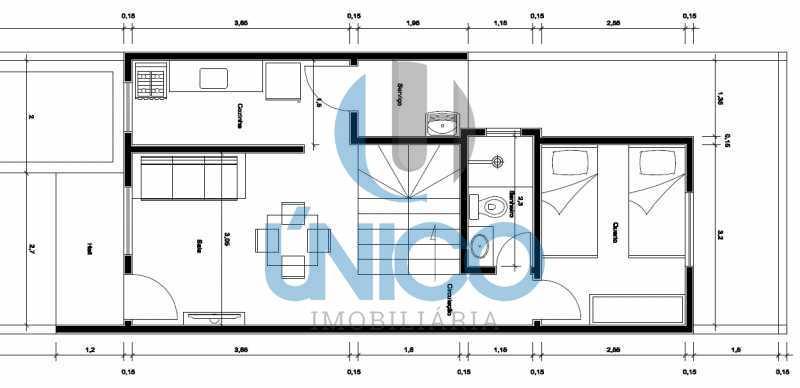 PLANTA TERREO - Casa residencial para Venda Sun Ville II, Jequié 3 dormitórios sendo 1 suíte, 1 sala, 2 banheiros, 2 vagas 97,00 m² construída, 100,00 m² total Sem Piscina 210 mil Com Piscina 240 mil - MTCA30008 - 18