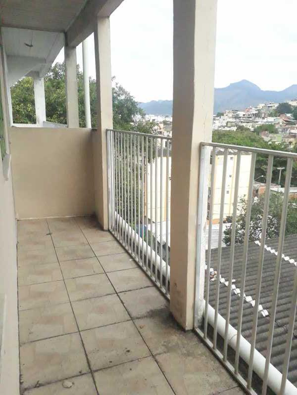 Varanda - Apartamento para alugar Rua Pereira Pinto,Tomás Coelho, Rio de Janeiro - R$ 600 - DBAP20009 - 8