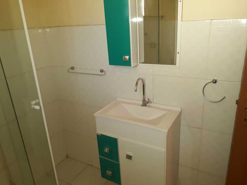 Banheiro Social - Apartamento 2 quartos para alugar Abolição, Rio de Janeiro - R$ 750 - DBAP20002 - 16
