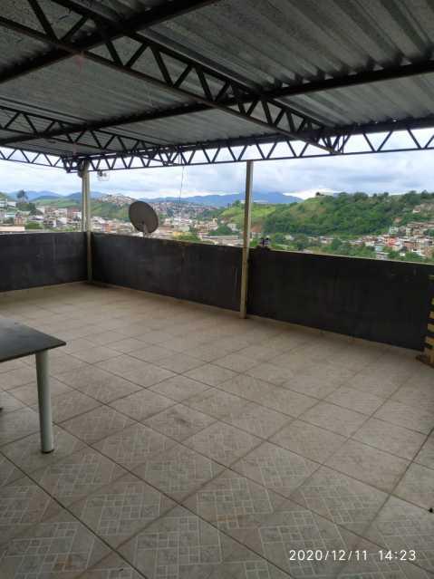 Varanda - Apartamento à venda Rua Vitório Dalla Paula,Barra, Muriaé - R$ 150.000 - MTAP20001 - 3