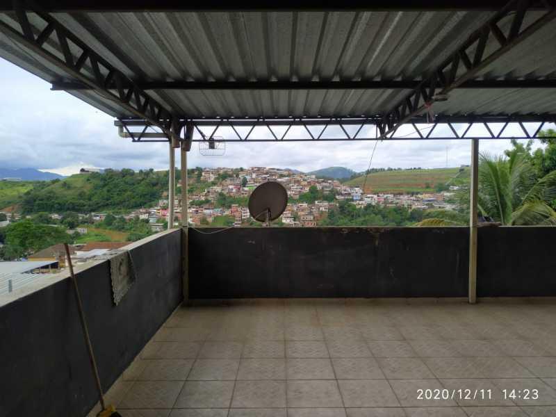 Varanda - Apartamento à venda Rua Vitório Dalla Paula,Barra, Muriaé - R$ 150.000 - MTAP20001 - 1