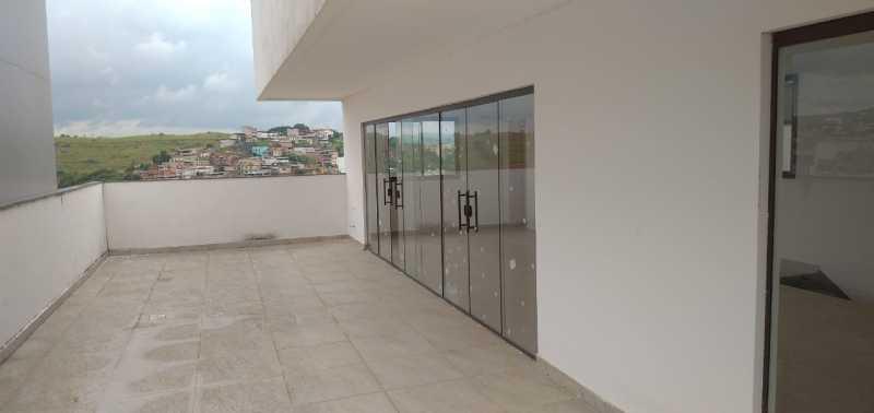 cobertura 3 quartos 4 - Cobertura 3 quartos à venda Barra, Muriaé - R$ 1.090.000 - MTCO30001 - 3