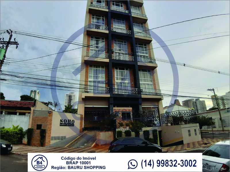 Sem título-1 - Apartamento 1 quarto à venda Vila Nova Cidade Universitária, Bauru - R$ 270.000 - BRAP10001 - 1