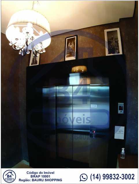 Sem título-2 - Apartamento 1 quarto à venda Vila Nova Cidade Universitária, Bauru - R$ 270.000 - BRAP10001 - 3