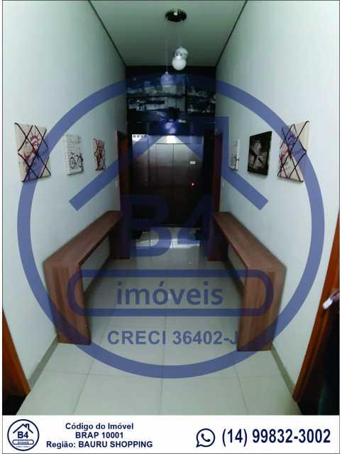 Sem título-3 - Apartamento 1 quarto à venda Vila Nova Cidade Universitária, Bauru - R$ 270.000 - BRAP10001 - 4