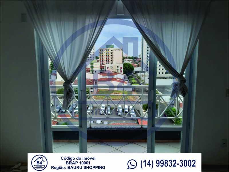 Sem título-4 - Apartamento 1 quarto à venda Vila Nova Cidade Universitária, Bauru - R$ 270.000 - BRAP10001 - 5