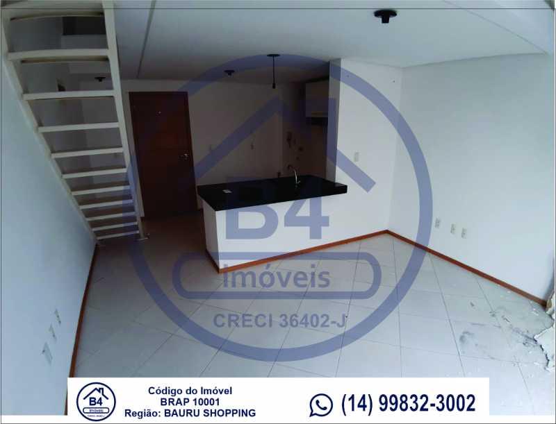 Sem título-6 - Apartamento 1 quarto à venda Vila Nova Cidade Universitária, Bauru - R$ 270.000 - BRAP10001 - 7
