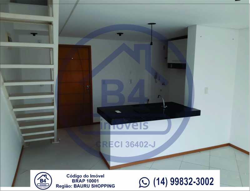 Sem título-7 - Apartamento 1 quarto à venda Vila Nova Cidade Universitária, Bauru - R$ 270.000 - BRAP10001 - 8