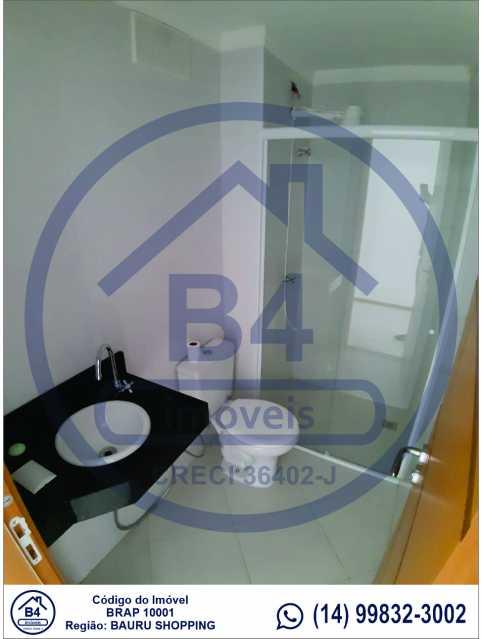 Sem título-10 - Apartamento 1 quarto à venda Vila Nova Cidade Universitária, Bauru - R$ 270.000 - BRAP10001 - 11