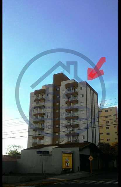 1. - Apartamento 1 quarto à venda Vila Aeroporto Bauru, Bauru - R$ 231.000 - BRAP10002 - 1