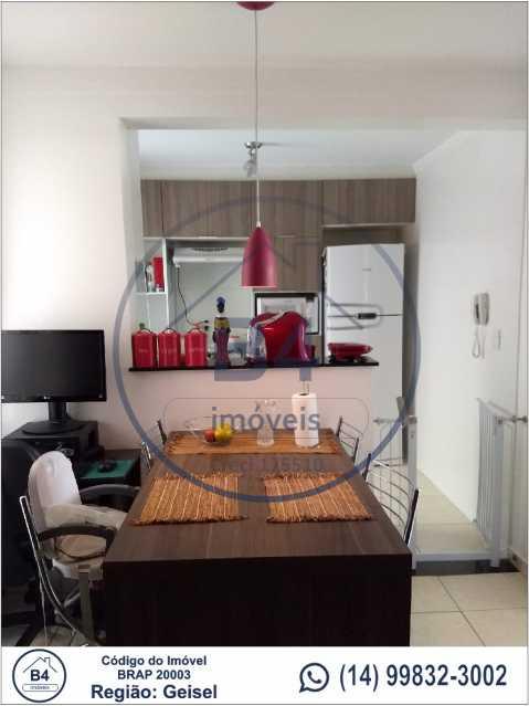 2 - Apartamento 2 quartos à venda Reserva Belas Nações, Bauru - R$ 185.000 - BRAP20003 - 3