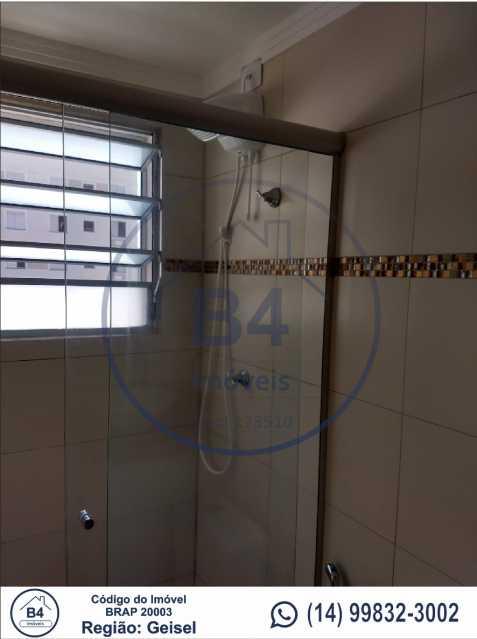 8 - Apartamento 2 quartos à venda Reserva Belas Nações, Bauru - R$ 185.000 - BRAP20003 - 9