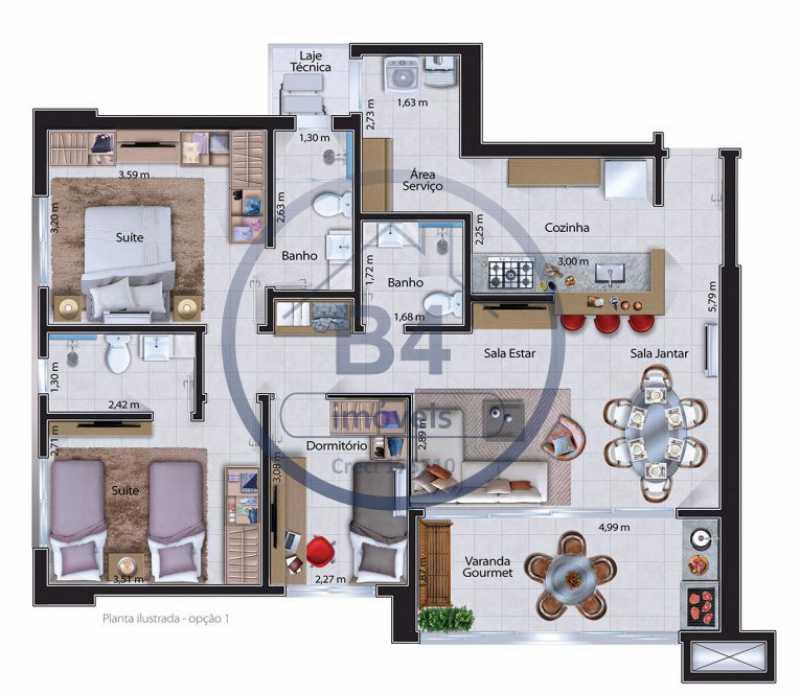 WhatsApp Image 2020-10-07 at 1 - Apartamento 3 quartos à venda Parque Jardim Europa, Bauru - BRAP30001 - 8
