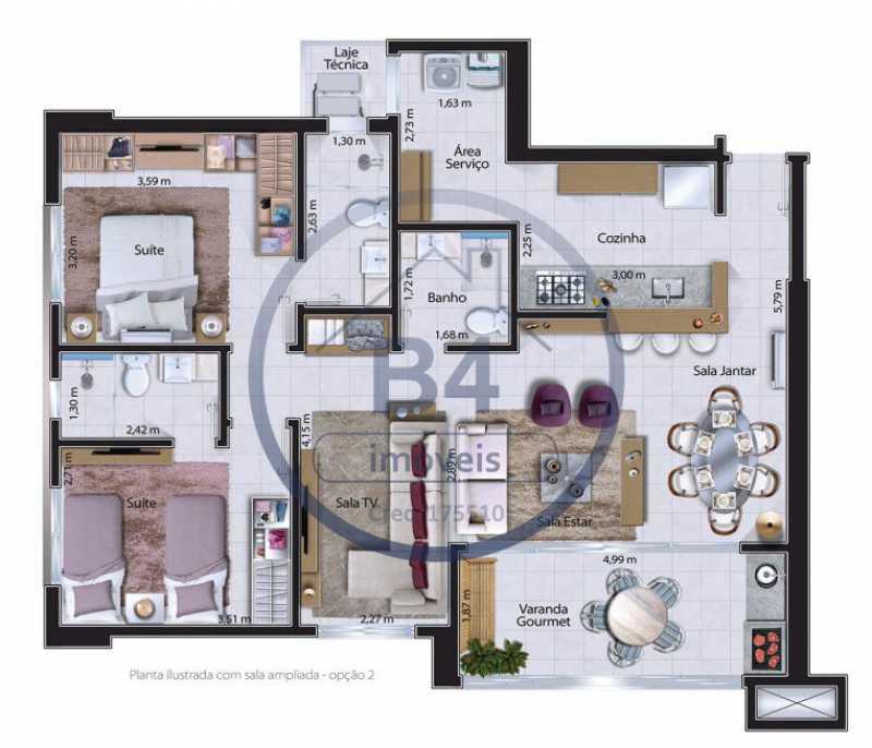 WhatsApp Image 2020-10-07 at 1 - Apartamento 3 quartos à venda Parque Jardim Europa, Bauru - BRAP30001 - 9