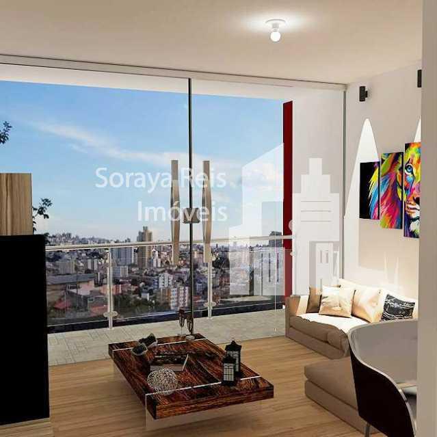 21b23cb4ce5a6e17f786ecfaeef0aa - Apartamento 3 quartos à venda São Lucas, Belo Horizonte - R$ 429.000 - 825 - 4