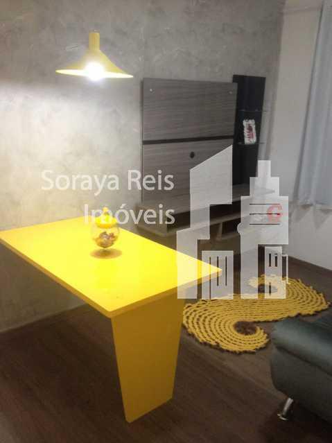 1 - Apartamento 2 quartos à venda Conjunto Henrique Sapori, Ribeirão das Neves - R$ 145.000 - 293 - 7