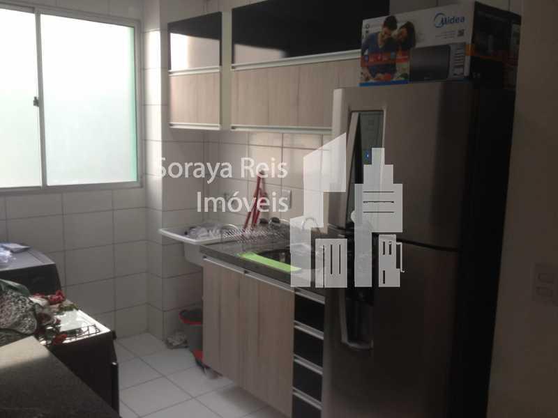 5 - Apartamento 2 quartos à venda Conjunto Henrique Sapori, Ribeirão das Neves - R$ 145.000 - 293 - 4