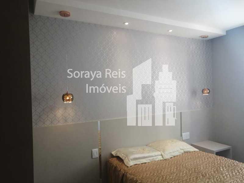 quarto 1 - Apartamento 2 quartos à venda Conjunto Henrique Sapori, Ribeirão das Neves - R$ 145.000 - 293 - 12