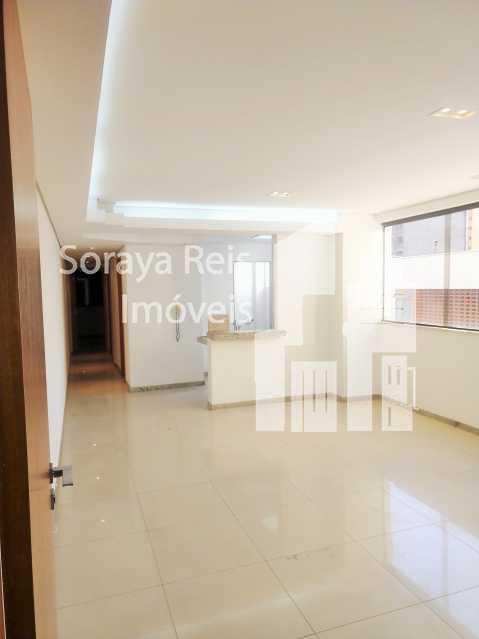 Sala ampla e arejada - Apartamento 2 quartos à venda Lourdes, Belo Horizonte - R$ 780.000 - 136 - 1