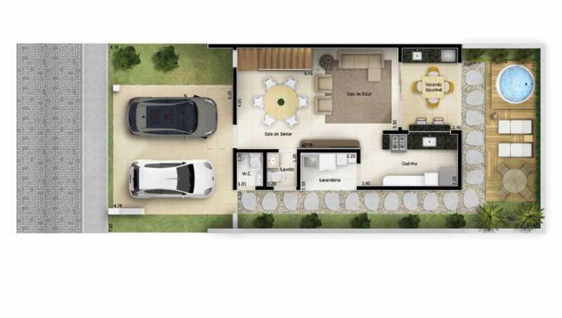 207_G1603306991 - Fachada - Condomínio Reisidencial Bellagio Residences - 207 - 4