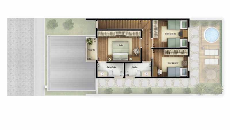 207_G1603306992 - Fachada - Condomínio Reisidencial Bellagio Residences - 207 - 5