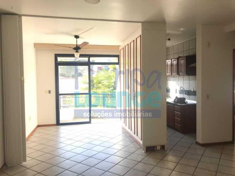 Sala - Apartamento 1 quarto à venda Jurerê, Florianópolis - R$ 390.000 - JUR1AP1009 - 1