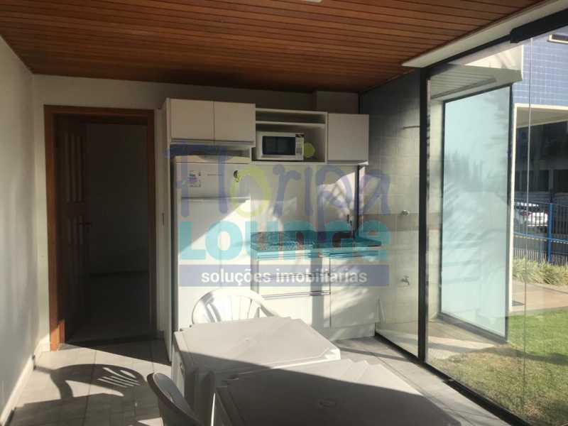 Salão de Festas - Apartamento 1 quarto à venda Jurerê, Florianópolis - R$ 390.000 - JUR1AP1009 - 16