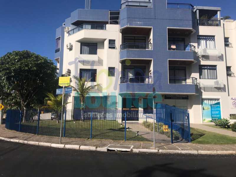 Fachada - Apartamento 1 quarto à venda Jurerê, Florianópolis - R$ 390.000 - JUR1AP1009 - 22